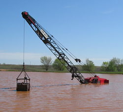 Crane Flood Damage